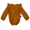 Kapow Kids Balloon Romper - Caramel Brown - Annie and Islabean