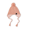 Kapow Kids Dusty Rose Kntted Pom Pom Beanie - Annie and Islabean