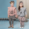 KaPow Kids Harlequin Ruffle Sweater - Annie and Islabean