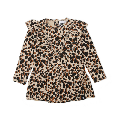 KaPow Kids Leopard Print Baby Dress - Annie and Islabean