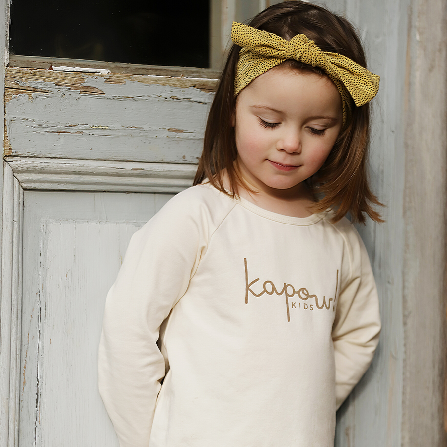 Kapow Kids Logo Long Sleeve Tee - Annie and Islabean