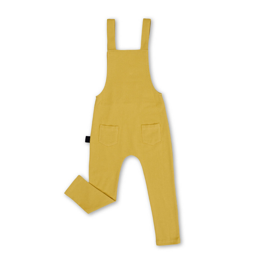 Kapow Kids Mustard Overalls - Annie and Islabean