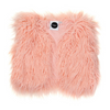 Kapow Kids Shaggy Faux Fur Vest - Rose Pink - Annie and Islabean