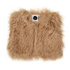 Kapow Kids Shaggy Faux Fur Vest - Mushroom - Annie and Islabean