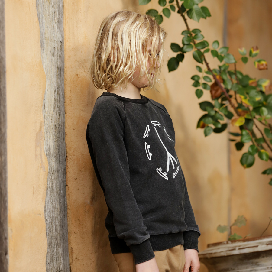 Kapow Kids Skate & Peace Placement Jumper - Annie and Islabean