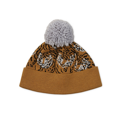 KaPow Kids Tiger Pom Pom Beanie - Annie and Islabean