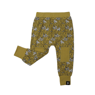 KaPow Kids Tiger Knee Patch Pants - Annie and Islabean