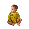 Kip & Co Banana Organic Long Sleeve Romper - Annie and Islabean