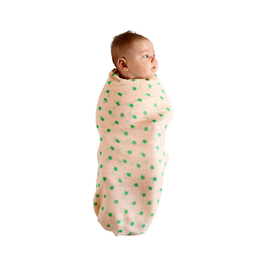 Kip & Co Four Leaf Clover Bamboo Swaddle - Annie and Islabean
