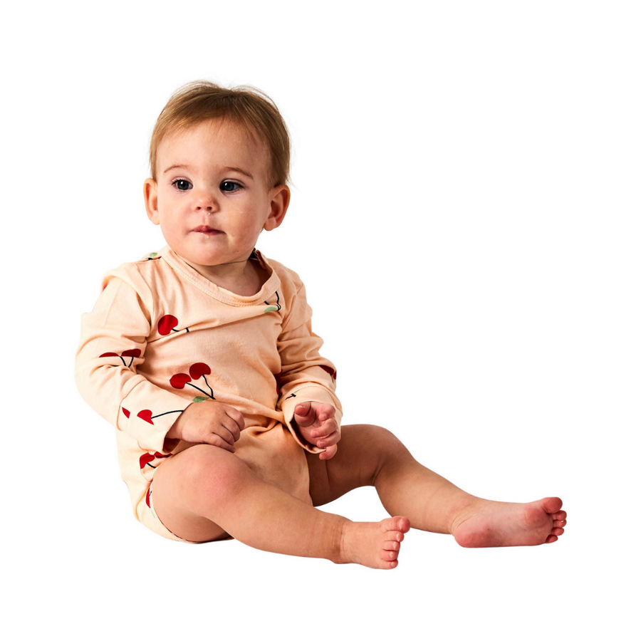 Kip & Co Mon Cherie Organic Long Sleeve Romper
