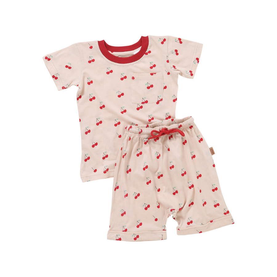 Kip & Co Mon Cherie Short Sleeve PJ Set - Annie and Islabean