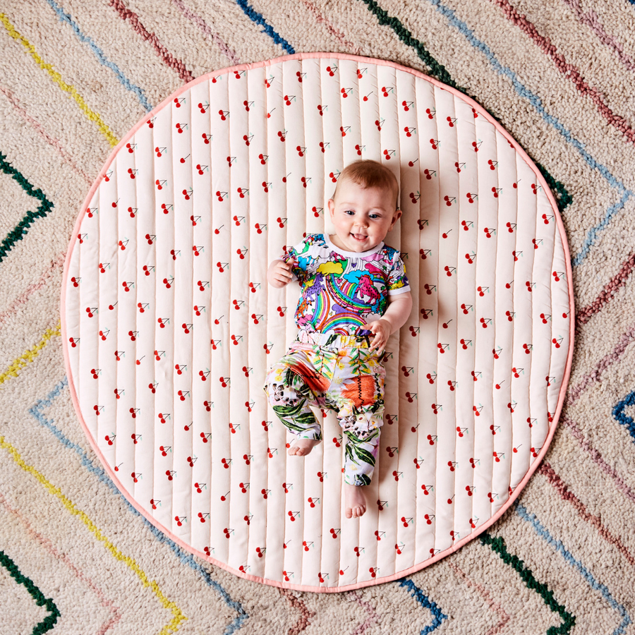 Kip & Co Mon Cherie Quilted Baby Playmat - Annie and Islabean