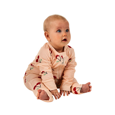 Kip & Co Mon Cherie Organic Zip Romper - Annie and Islabean