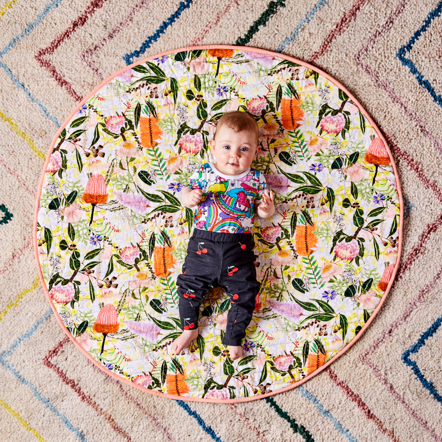 Kip & Co Native Quilted Baby Play Mat