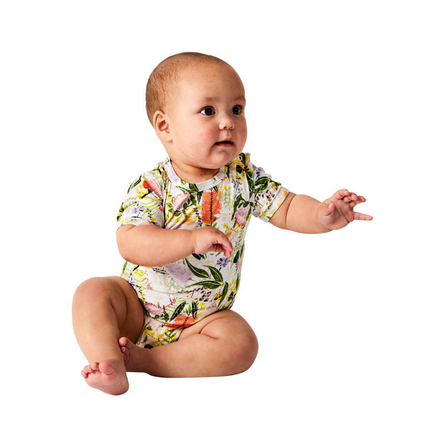 Kip & Co Native Organic Short Sleeve Romper