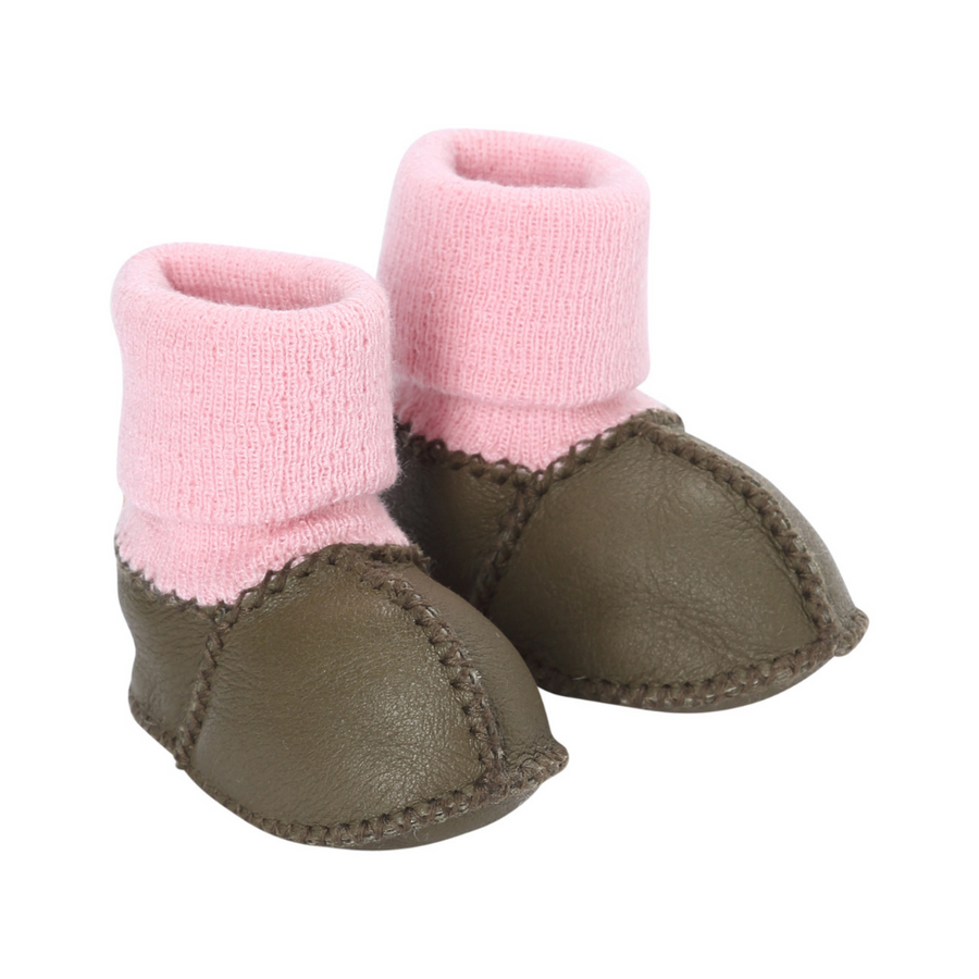 Kip & Co Olive Baby Boots - Annie and Islabean