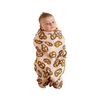 Kip & Co Pretzel Pink Bamboo Swaddle - Annie and Islabean
