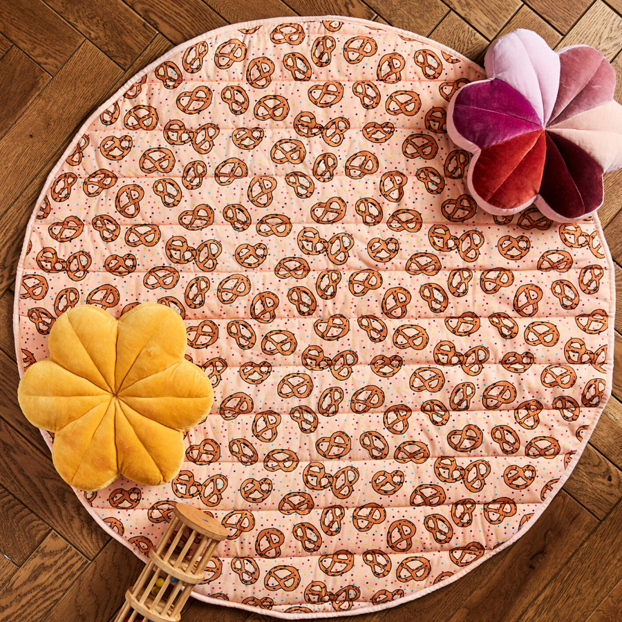 Kip & Co Pretzel Pink Playmat - Annie and Islabean