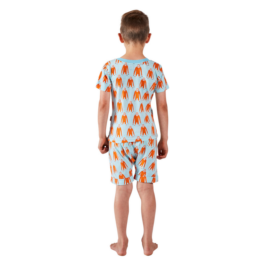 Kip & Co Save The Orangutan Short Sleeve PJ Set