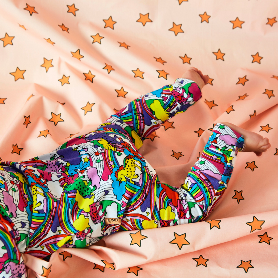 Kip & Co Starbright Organic Zip Romper - Annie and Islabean