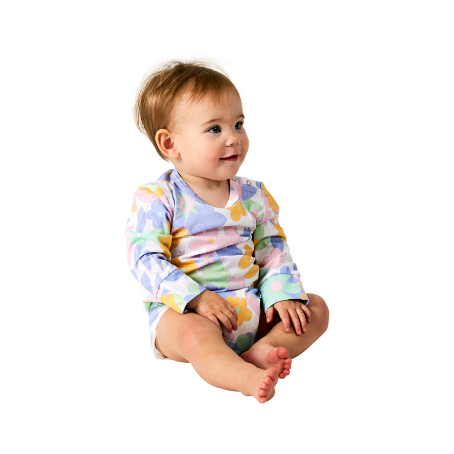 Kip & Co Zeppelin Organic Long Sleeve Romper - Annie and Islabean