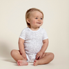 Laurel Leaf Short Sleeve Bodysuit, Sapling Child - Annie and Islabean