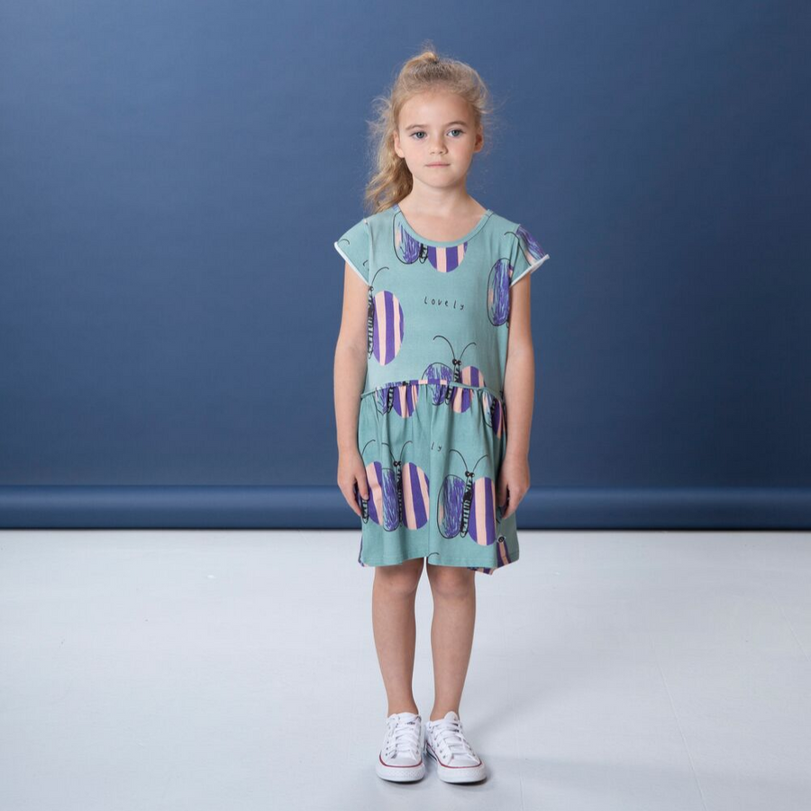 Littlehorn Lovely Butterfly Dress - Annie and Islabean