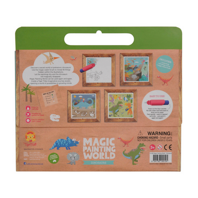 Magic Painting World - Dinosaurs, Tiger tribe - Annie and Islabean