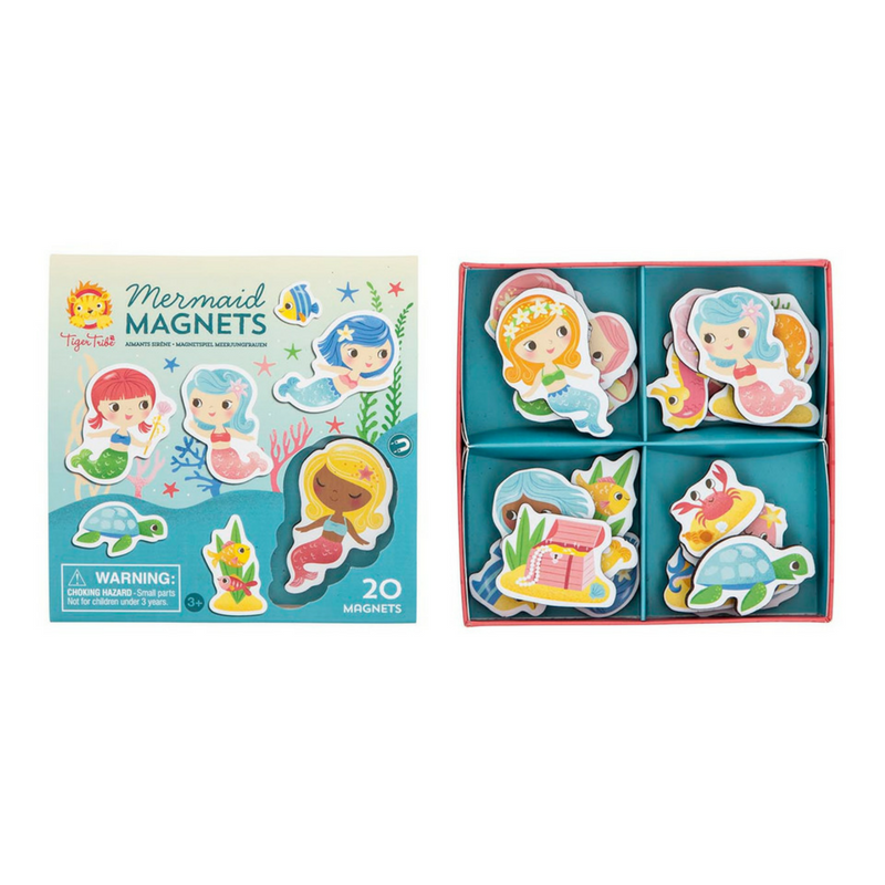 Mermaid Magnets, Tiger tribe - Annie and Islabean