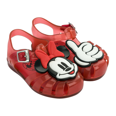 Mini Melissa Disney Aranha Mickey & Friends - Red Translucent