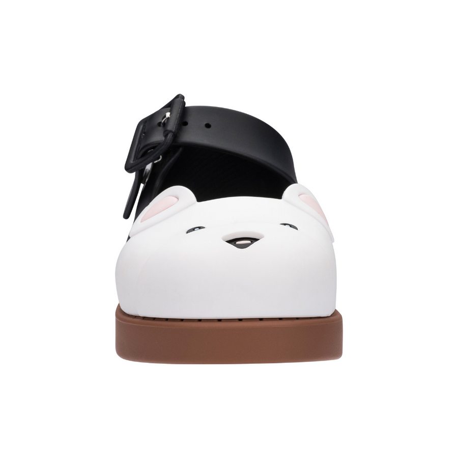 Mini Melissa Maggie Bear - White/Black Matt