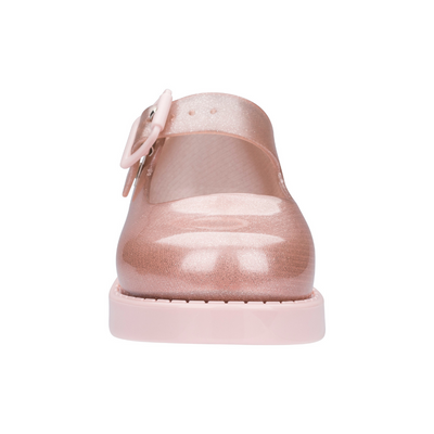 Mini Melissa Maggie - Rose Gold Glitter