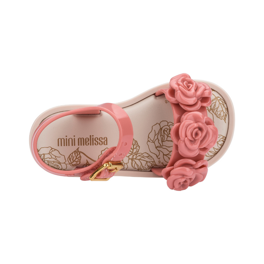 Mini Melissa Mar Sandal III BB - Blush Gloss