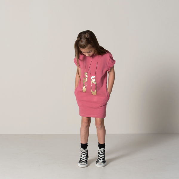 Minti Ballerina Rolled Up Tee Dress