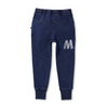 Minti Blasted Sliced Trackies -Blue Wash
