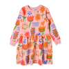 Pre-order Minti Bloom Furry Sweater Dress - Annie and Islabean