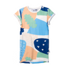 Minti Cosmic Rolled Up Tee Dress