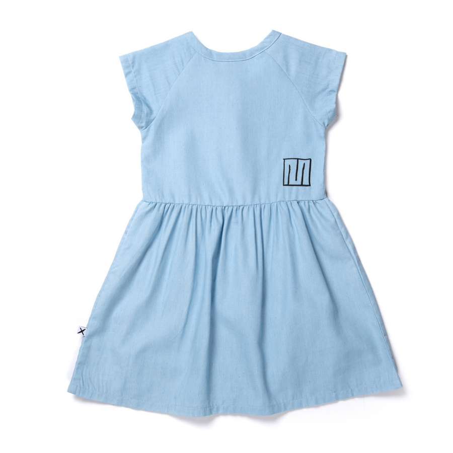 Minti Dome Chambray Dress - Annie and Islabean