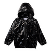 Minti High Shine Anorak - Black Galaxy - Annie and Islabean