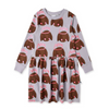 Pre-order Minti Royal Rabbits Sweater Dress - Annie and Islabean