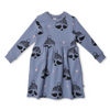 Minti Rugged Up Racoon Furry Dress