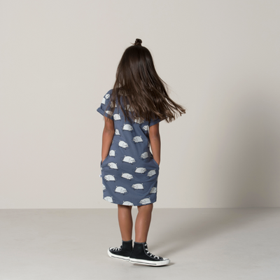 Skate Bunnies Rolled Up Tee Dress