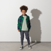 Minti Snappy Flannel Shirt - Green Check - Annie and Islabean