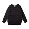 Pre-order Minti Triangles Knit Crew - Charcoal Motley - Annie and Islabean