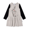 Minti Watercolour Bunny Dress - Annie and Islabean