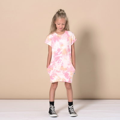 Minti Wham Rolled Up Tee Dress - Annie and Islabean