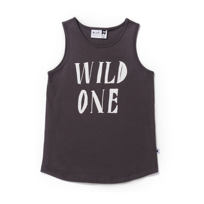 Minti Wild One Singlet - Annie and Islabean