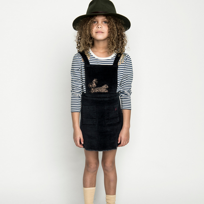 Missie Munster Charlotte Pinafore Dress - Annie and Islabean
