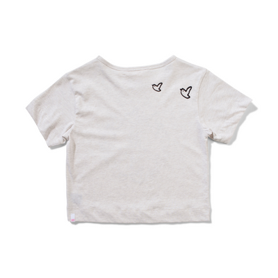 Missie Munster Fly Free Tee - Oatmeal - Annie and Islabean