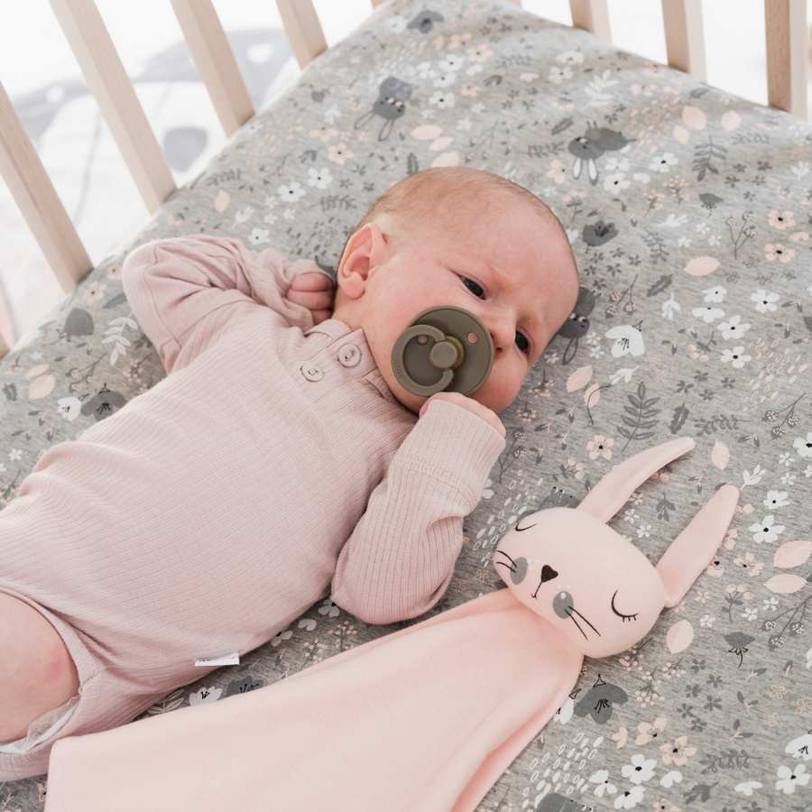 Mister Fly Pink Bunny Comforter - Annie and Islabean